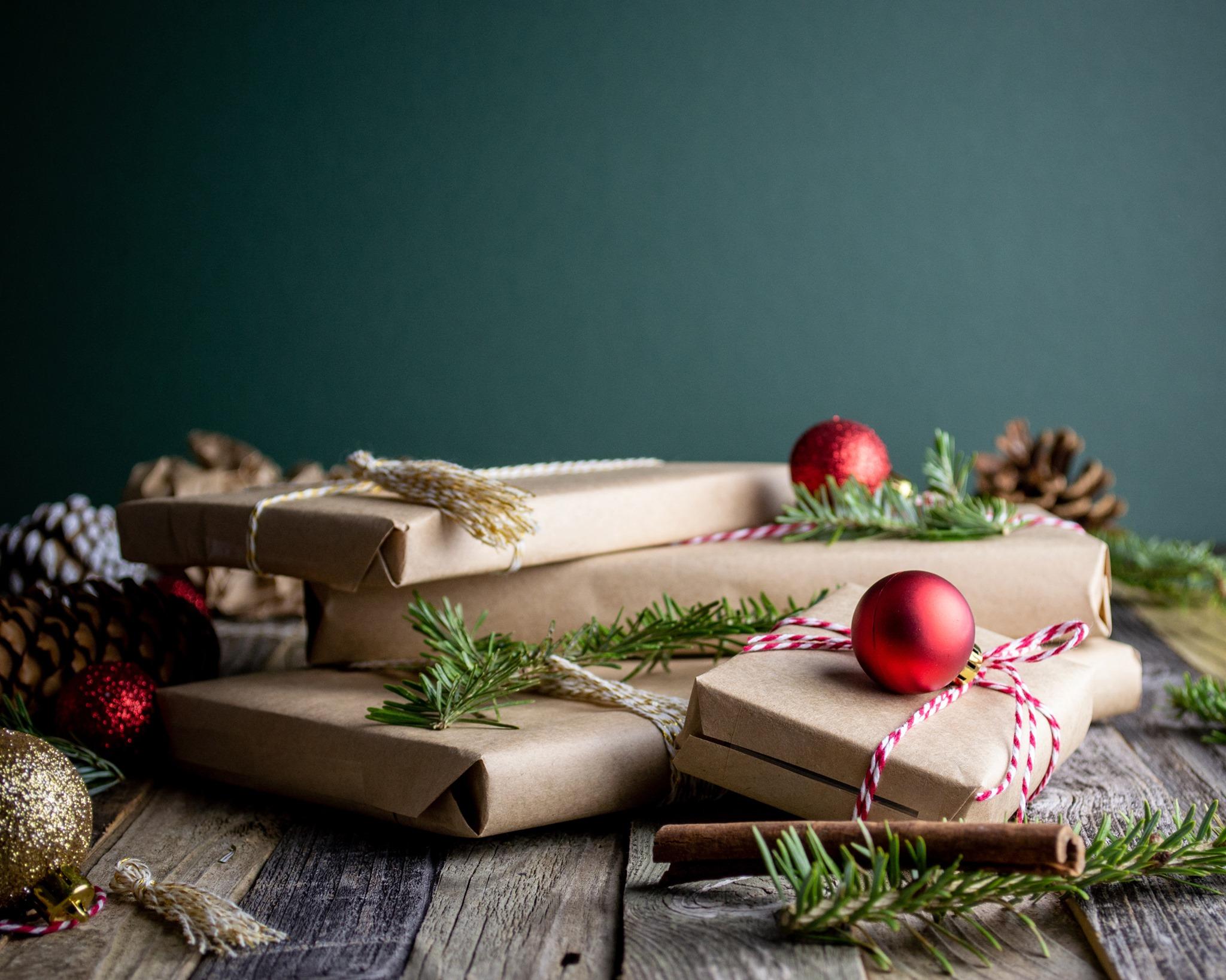 Kerstbrievenbuspakketjes maken
