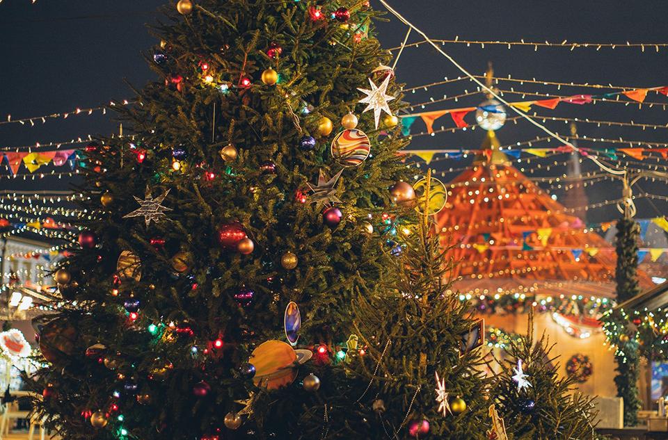 Schaften aan de Schie - Walk tru ontmoeting langs de kerstboom